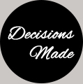 Decisions made logo